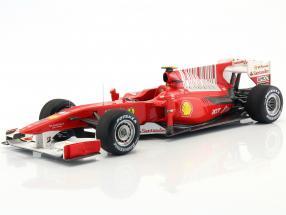 Fernando Alonso Ferrari F10 formula 1 2010 1:18 HW Elite