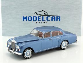 Rolls-Royce Silver Cloud III Flying Spur H.J.Mulliner RHD blue metallic 1:18 Model Car Group