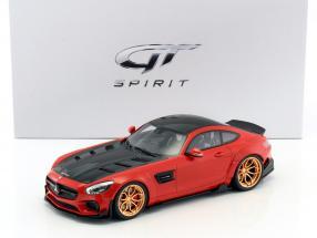 Mercedes-Benz AMG GT modified by Prior Design rot / schwarz 1:18 GT-SPIRIT