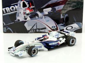 R. Kubica BMW Sauber C24B #38 formula 1 Test Barcelona 2006 1:18 Minichamps