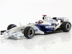 R. Kubica BMW Sauber C24B #38 Formel 1 Test Barcelona 2006 1:18 Minichamps