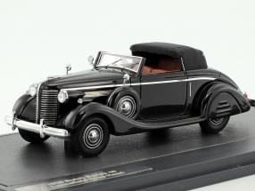 Buick Series 40 Lancefield Drop Head year 1938 black 1:43 Matrix