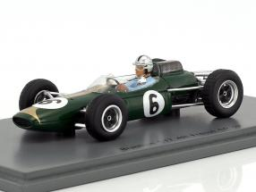 Jack Brabham Brabham BT7 #6 4th France GP formula 1 1963 1:43 Spark