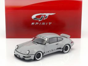 Porsche RWB 964 Duck Tail grau 1:18 GT-Spirit