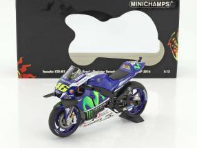 Valentino Rossi Yamaha YZR-M1 #46 2nd MotoGP 2016 1:12 Minichamps