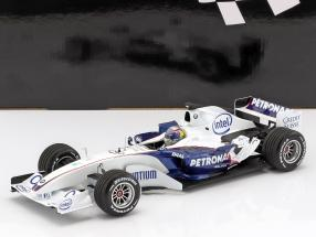 Alessandro Zanardi Sauber BMW C24B November test Valencia formula 1 2006 1:18 Minichamps