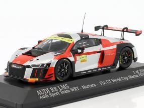 Audi R8 LMS #7 FIA GT World Cup Macau 2016 Edoardo Mortara 1:43 Minichamps