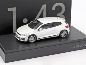 Volkswagen VW Scirocco weiß 1:43 Norev