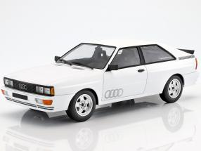 Audi Quattro year 1980 white 1:18 Minichamps