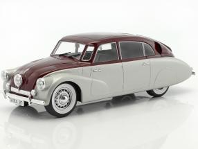 Tatra 87 silver / dark red 1:18 Model Car Group
