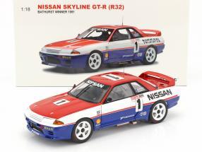 Nissan Skyline GT-R (R32) #1 Bathurst Winner 1991 Skaife, Richards 1:18 AUTOart