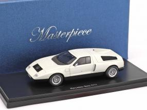 Mercedes-Benz C111 Prototype  year 1969 white 1:43 AutoCult