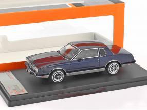 Chevrolet Monte Carlo year 1981 dark blue 1:43 Premium X