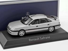 Renault Safrane Biturbo Baccara year 1993 silver metallic 1:43 Norev