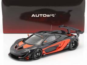 McLaren P1 GTR Baujahr 2015 schwarz / orange 1:18 AUTOart
