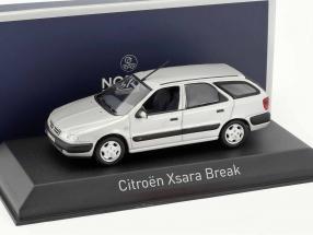 Citroen Xsara Break year 1998 quartz gray 1:43 Norev