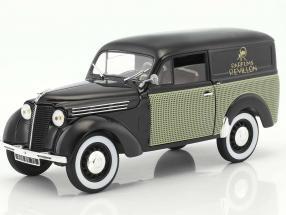 Renault 300 kg Juvaquatre Parfums Revillon year 1953 black 1:18 Norev