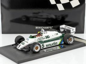 Derek Daly Williams Ford FW08 #5 Formel 1 1982 1:18 Minichamps