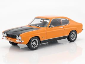 Ford Capri RS 2600 Baujahr 1970 orange / schwarz 1:18 Minichamps