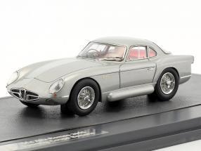 Alfa Romeo 2000 Sportiva Coupe Bertone Baujahr 1954 silber 1:43 Matrix