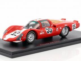 Porsche 906 LH #55 24h Daytona 1967 Spoerry, Steinemann 1:43 Spark