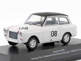 Austin A40 #138 BTCC Champion 1960 George Shepherd 1:43 Atlas