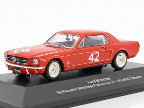 Ford Mustang #42 BTCC Champion 1965 Roy Pierpoint 1:43 Atlas