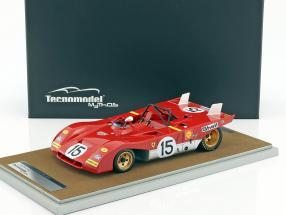 Ferrari 312 PB #15 1000km Monza 1971 Regazzoni, Ickx 1:18 Tecnomodel