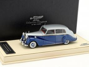 Rolls-Royce Silver Wraith Touring Limousine HJ Mulliner blau / silber 1:43 TrueScale