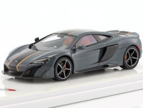 McLaren 675LT year 2015 chicane gray 1:43 TrueScale