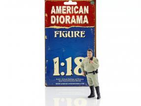 Police Series Highway Patrol figure IV Talking on Radio 1:18 American Diorama