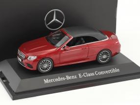 Mercedes-Benz E-Klasse Cabriolet A238 hyazinth rot metallic 1:43 iScale
