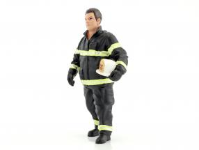 firefighter figure I Fire Chief 1:18 American Diorama