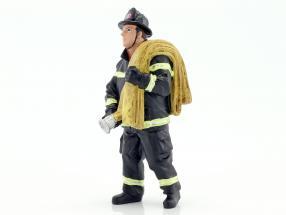 firefighter figure IV Job Done 1:18 American Diorama