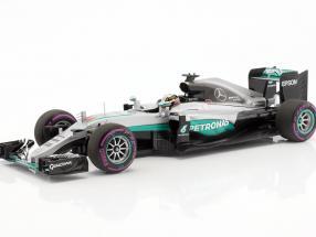 Lewis Hamilton Mercedes F1 W07 Hybrid #44 Winner Abu Dhabi GP Formel 1 2016 1:18 Minichamps