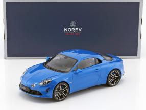 Renault Alpine A110 Premiere Edition 2017 blau metallic 1:18 Norev