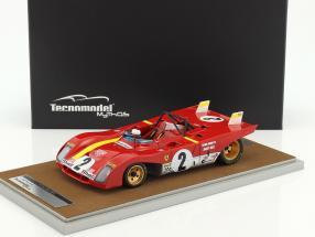 Ferrari 312 PB #2 Winner 6h Daytona 1972 Andretti, Ickx 1:18 Tecnomodel