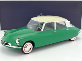 Citroen DS 19 Baujahr 1956 grün / champagner 1:12 Norev