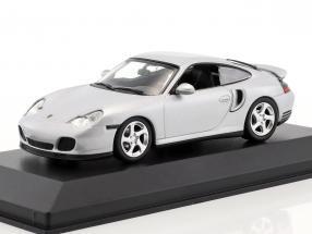 Porsche 911 (996) Turbo 1999 silver 1:43 Minichamps