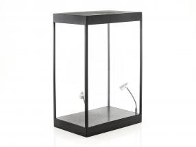 Single cabinet with 2 mobile led lamps for figures in scale 1:6 Triple9