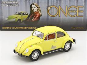 Emma's Volkswagen VW Käfer TV-Serie Once Upon a Time 2011 gelb 1:18 Greenlight