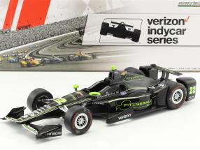 Juan Pablo Montoya Chevrolet #22 IndyCar Series 2017 1:18 Greenlight