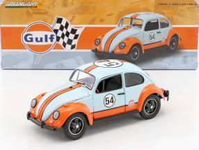 Volkswagen VW Käfer #54 Gulf Oil Racer gulf blau 1:18 Greenlight