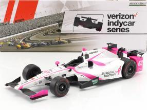 Pippa Mann Honda #63 IndyCar Series 2017 1:18 Greenlight