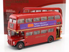 Routemaster London Bus RM2089 Baujahr 1983 rot 1:24 SunStar