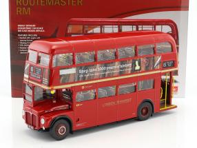 Routemaster London Bus RM324 Baujahr 1983 rot 1:24 SunStar