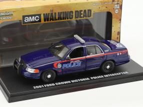 Ford Crown Victoria Police Interceptor Atlanta Police Baujahr 2001 TV-Serie The Walking Dead 1:43 Greenlight
