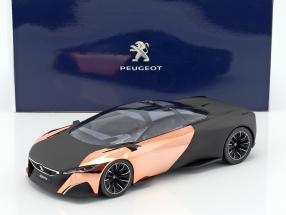 Peugeot Concept-Car Onyx Salon de Paris 2012 mattschwarz / kupfer 1:18 Norev