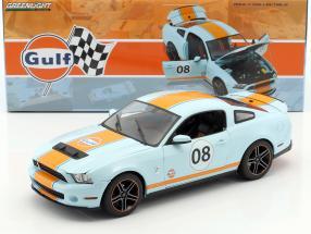 Shelby GT500 Gulf Version Baujahr 2012 gulf blau / orange 1:18 Greenlight