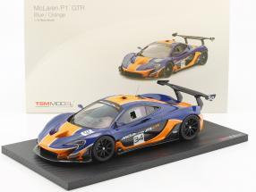 McLaren P1 GTR #34 blau / orange 1:18 TrueScale